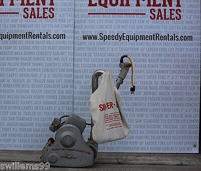 Essex-silver 8drum Floor Sander