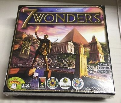 7 Wonders Board Game, FREE SHIPPING!