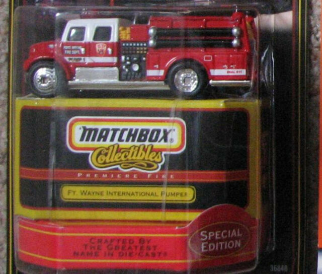 Matchbox Cars Premiere Fire Tender - FT  Wayne International Pumper Special  Ed - #36848 Date 1998 | in Aberdeen | Gumtree