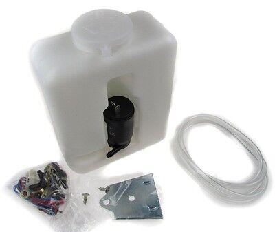 Wipac Universal Plastic Windscreen Washer Bottle Kit 1.2L Screen Wash Screenwash