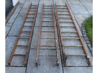 3 Section Wooden Ladder (3.025m each)