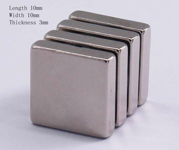 5-10pcs F10X 10X 3mm alnico ndfeb high strength strong magne