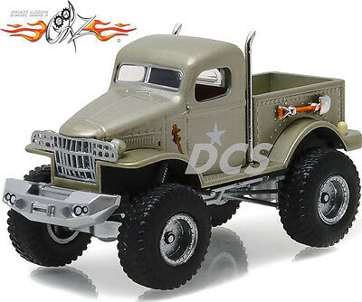 GREENLIGHT Military 1/2 Ton 4x4 Pickup Truck
