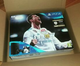 PlayStation 4 With FIFA 18. BRAND NEW. UNTOUCHED. UN-USED. CHEAPEST.