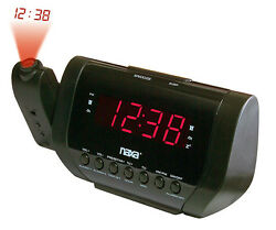 Naxa NRC173 Projection Dual Alarm Clock Radio