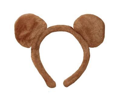 FLUFFY CUTE TEDDY BEAR EARS HEADBAND ALICEBAND - KIDS & ADULTS FANCY DRESS PARTY - Teddy Bear Ears Headband Kids