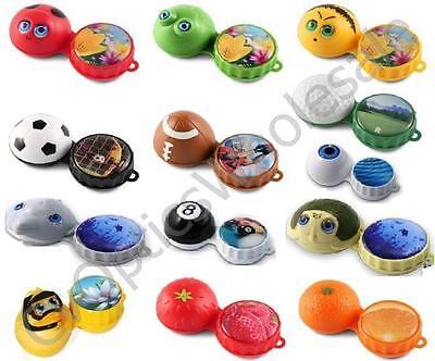 Novelty Funky 3D Contact Lens Lenses Lense Soaking / Storage Soaking Case /Gift  (Novelty Contact Lenses)