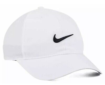 d6b97b39 NEW NIKE Dri-Fit Light Legacy Hat Cap BLACK/WHITE Running Tennis Sale Fast  Ship