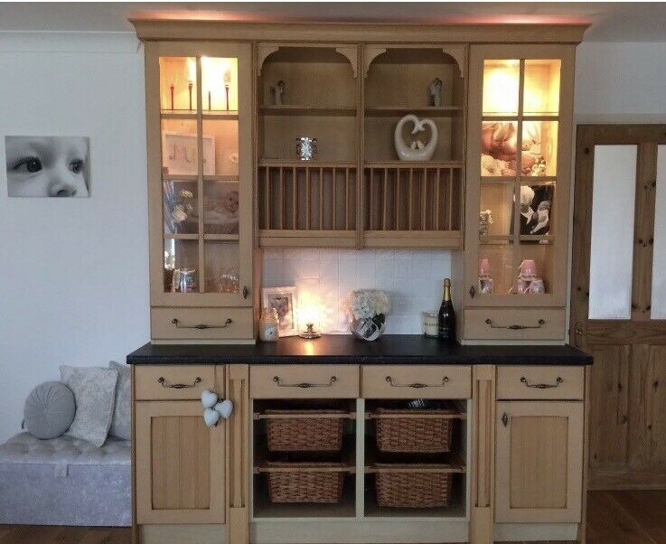 Large Farm House Welsh Dresser Sideboard Display Unit Kitchen Dining Room