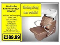 Hairdressing Backwash Unit CH-S03GLD £389.99
