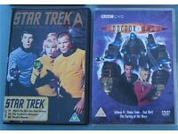 Lot of 3 Sci-fi DVD's (4 discs) Star Trek Doctor Who Prehistoric Park Dinosaur (ITV 6 part)