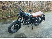 Mutt Mongrel Black Sabbath 125cc Motorbike Limited Edition