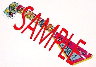 Data East The Simpsons Pinball Machine Playfield Target Plastic - New