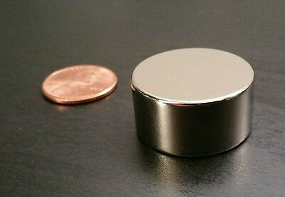 1 Neodymium N52 Disc Magnet. Super Strong Rare Earth. 1 X 12 Neo Gauss