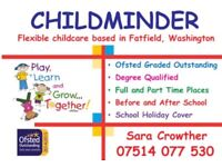 Ofsted Outstanding Childminder