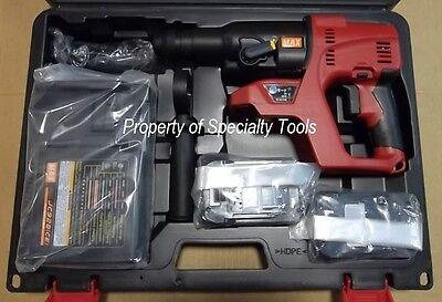 Max Usa Pjr265 25.2v Li-ion Cordless Rotary Hammer Drill Kit Battery Powered New