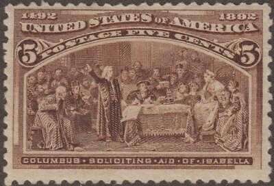 US Stamp #234 Mint Hinged 2341209151