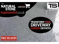 Granite Paving Slabs - Polished, Flamed, Graining