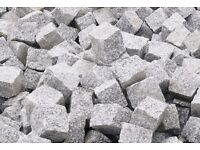 Granite Setts Cobbles £23 / m2 - DELIVERED! 216 m2 / Pack / 24 tonnes PAVING