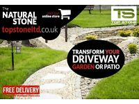 Granite Setts and Cobbles / Grey / Yellow / Red / Black - Natural Split and Sawn