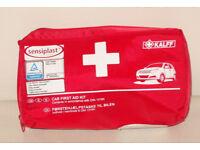 SENSIPLAST CAR FIRST AID KIT DIN 13164 KALFF TUV CERTIFIED EASY TO HANDLE CASE.*