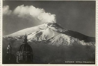 CATANIA ETNA TELEFOTO VIAGGIATA 1948