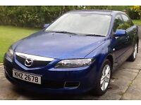 2008 Mazda 6 diesel 2.0 litre blue 5 door hatchback