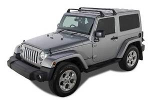 Jeep Wrangler Rhino Roof Racks (Near New) Allambie Heights Manly Area Preview