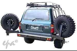 Dual wheel carrier 80 series landcruiser - Free watch the big bang