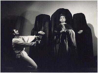 Originalfotografie von Siegfried Enkelmann: Ballett Pur - Die Maskierten