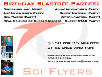 Science Birthday Party for Kids!