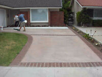 Landscaping Services: Wash&Seal, Concrete, Jewel Stone +More