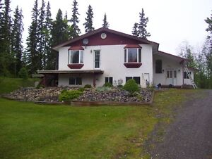 5+ Acres with a Large Family Home