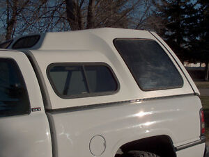 White Truck Topper to fit Dodge Shortbox