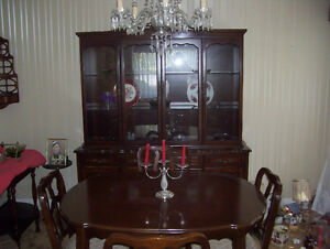 Estate Sale Andrew Malcolm dining room buffet and hutch