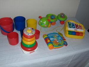 Jouets pour bébé à 5$ chacun