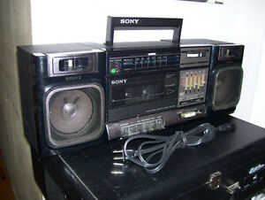Wanted - Original Speaker Units for Sony Boombox CFS-1000
