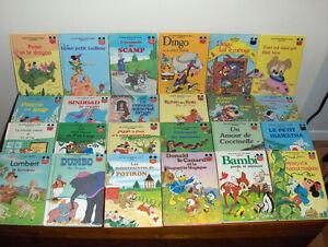 """Livres Disney """"vintage"""" (AJOUT)"""
