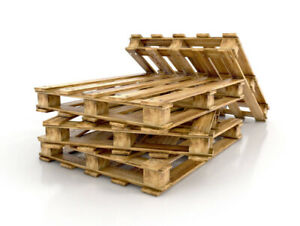 Free Wood skids/pallets removal and/or drop off