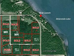 "10 Acre"" Lakeside Lots at Delaronde Lake, SK """