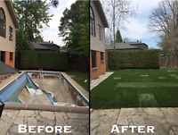 POOL  DEMOLITIONS - FILL INS  -  GETTING RID OF YOUR POOL