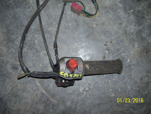 Honda CB450T CB400Tll CM400 CM450 control switch throttle assemb