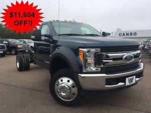2017 Ford F-550 XLT Cab & Chassis