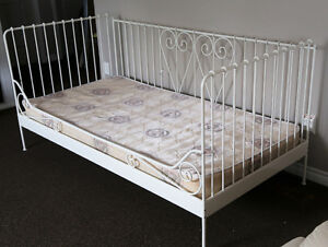 IKEA DAY BED with MATTRESS+MEMORY FOAM