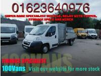 CITROEN RELAY 2.2HDI L3 WITH TIPPER, STORAGE AND WINCH, PERFECT ARB TRUCK CONV'