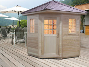 AcuRelax® Outdoor Infrared Saunas - Stock Clearance Sale