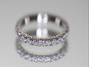 18 Karat white gold lady's Diamond 'Eternity' ring