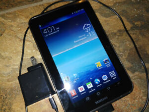 android sumsung 7-pouce tablet