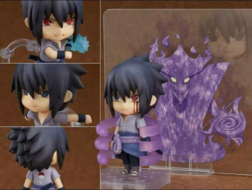 Anime Naruto Uchiha Sasuke Nendoroid 707 Action PVC Figure Model Doll Toy Gifts