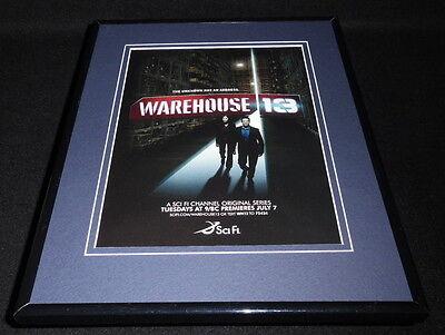 Warehouse 13 Syfy 2009 Framed 11x14 ORIGINAL Advertisement Eddie (Warehouse Frames)